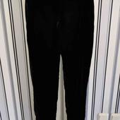 Чорні велюрові брюки F&F, р 10 (Пот -37-45;Поб -51)без слідів носки