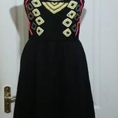 Трикотажное платье сарафан. Собирай лоты!