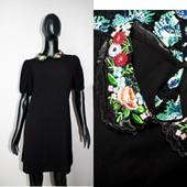Качество! Стильное платье/на воротнике вышивка от бренда New Look, новое состояние