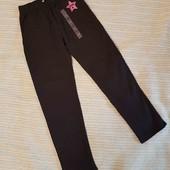 Тонкие брюки, лосины на 9-10 лет