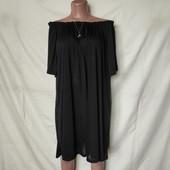 Лёгенькая свободная туника/платье большого размера