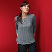 ☘ Блузка з довгими рукавами від Tchibo (Німеччина), наші розміри: 54-56 (48/50 євро)