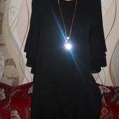 Легенькое черное платье р.44-46