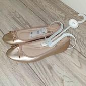 Супер лёгкие балетки от C&A размер 37, стелька 23.5см