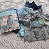 Lupilu набор футболочек 50-56 см, в лоте 1 комплект
