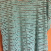 Легкая нежная мятная футболка на лето. Хороший размер!