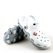 Кроксы белые аналог Crocs, р. 39, 40, 41