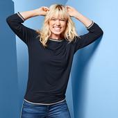 ☘ Стильний практичний светр з рукавами 3/4 Tchibo (Німеччина), розмір наш: 54-58 (48/50 євро)
