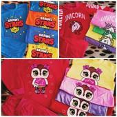 Пижамки 100% хлопок. 3 расцветки