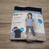 Футболка поло для мальчика 2 шт в упаковке размер 98-194 , 2-4 года. Германия lupilu