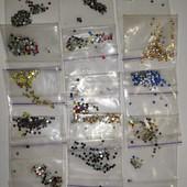 Декор для ногтей, камни 1400 штук, разные цвета