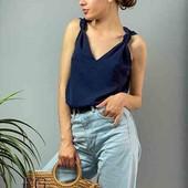 Женская летняя блуза без рукавов Новинка! 6 цветов