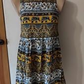 Лёгкое платье-сарафан(можно беременным) S