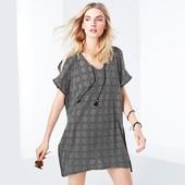 ☘ Стильна блуза-туніка, парео для пляжу від Tchibo (Німеччина), універсальний, 44/46 євро