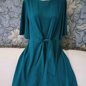 Платье изумрудного цвета, Primark, p. XL