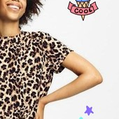***Акция! Собирайте лоты! Классная Лео блуза- футболка, 34 или 36 евро размер на выбор, Esmara.