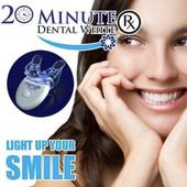 Засіб для відбілювання зубів в домашніх умовах 20 Minute Dental White