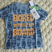 Стильная футболка с модным принтом от Cool club by Smyk, размер 98 см