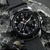 ✅ Мужские наруные часы Swiss army Gemius army черные в стиле милитари