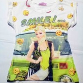 Стоп!!! Супер красивая футболка на вашу принцессу .