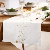 ☘ Святкова скатертина-доріжка для сервірування столу від Tchibo (Німеччина), размер 180 * 40