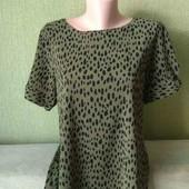 Лёгкая блуза леопард от M&Co