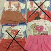 Милые платья для малышек -1-3года