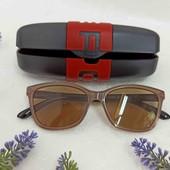 Очки для зрения солнцезащитные с диоптриями +1