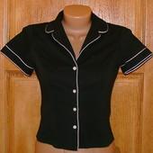 Женская приталенная блузка LOOK