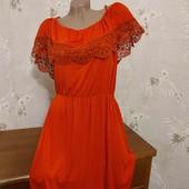 Потрясающее платье на пышную красотку! 48-52 размер, а может быть и больше