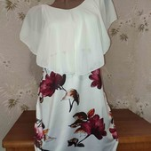 Шикарное, нежное платье! 46-50 размер