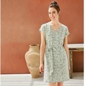 ❤️Esmara Германия❤️ЛЁН стильное легкое платье!! Комфортное и модное евро