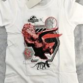 ❤️Jurassic World Германия❤️качественный комплектик: футболочка с динозавром + шортики 98\104
