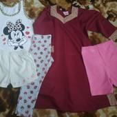 Пакет одежды для девочки 2-3 г.