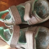 босоножки, сандали, кожа, размер 32 встелька 19 см, Made in UK.. сост. отличное