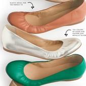 Рекомендую! Модные, кожаные балетки J. Crew для стильных модниц р. 38,5! В идеальнейшем состоянии.