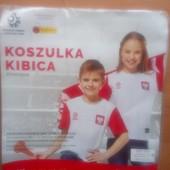 Футболка Polska, рост 140 или 158 см