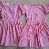 Два новых летних платьица на 10 лет