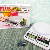 весы кухонные электронные до 10 кг