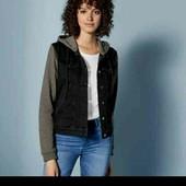 esmara стильная джинсовая куртка  евро 36+6