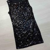 Стоп! Неймовірне плаття - паєтки.134-140р.