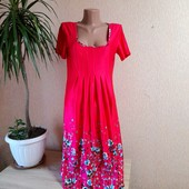 Акція❤❤❤Яскрава сукня з неймовірними квітами в новому стані