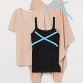 H&M_Только мама-футболка пижамная_XL_Н(20-1640-16-59_014)