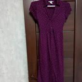 Фирменное красивое трикотажное вискозное платье р.10-12 в состоянии новой вещи