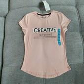 Классная фирменная футболка Creative от Рерсо! на 9-10 лет рост 134-140! хлопок!