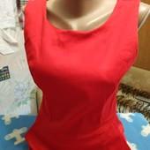 Платье стретчевое красного цвета на S/M