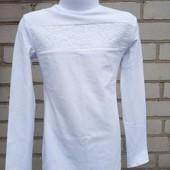 Блузка -гольф для девочки с длинным рукавом.122,128,134,140