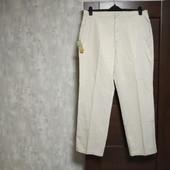 Фирменные новые коттоновые мужские брюки р.38-32