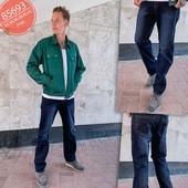 Мужские джинсы №85693 полубатал
