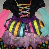 Карнавальные платье на девочку 6лет замеры на фото